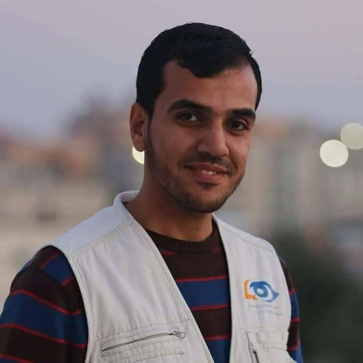 Press vest on chest, Gaza buries journalist killed by Israeli fire