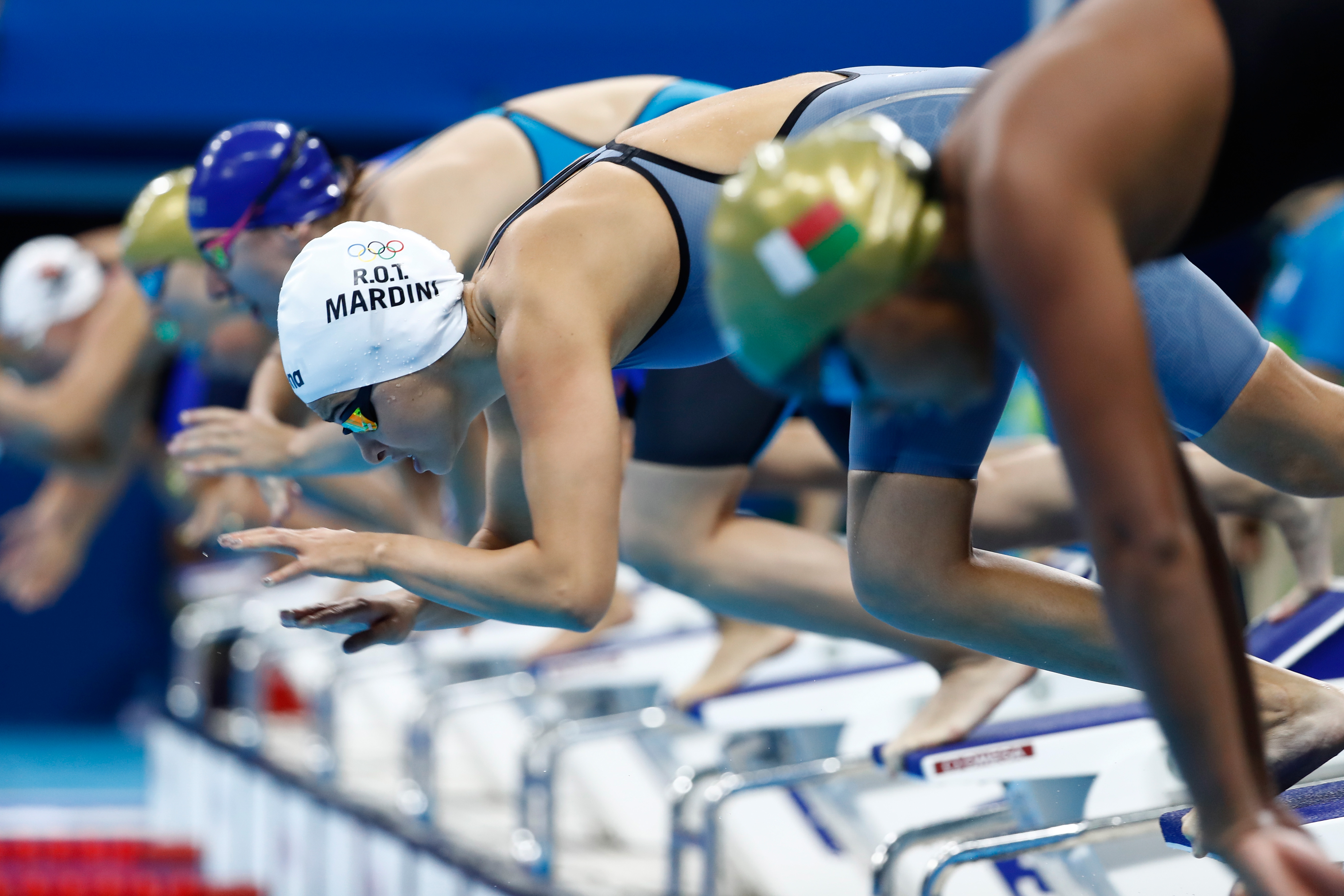 Olympic swimmer recalls having to literally swim for her life as a teenage refugee