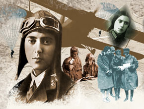 LEYLA MAMMADBEYOVA - THE EAST'S FIRST FEMALE FLYER