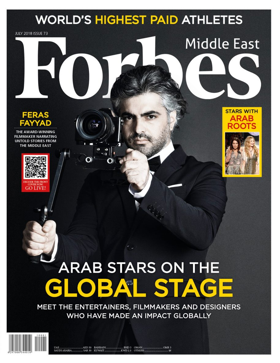 Forbes' Releases Top Arab Stars On The Global Stage