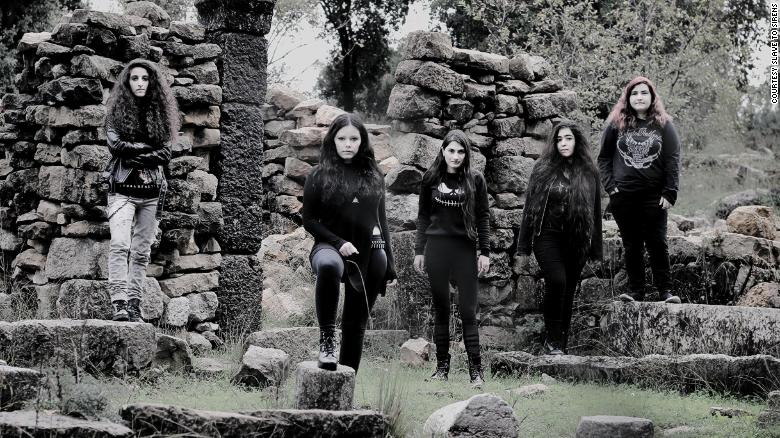 Lebanon's screaming sirens defy gender norms with all-girl metal group