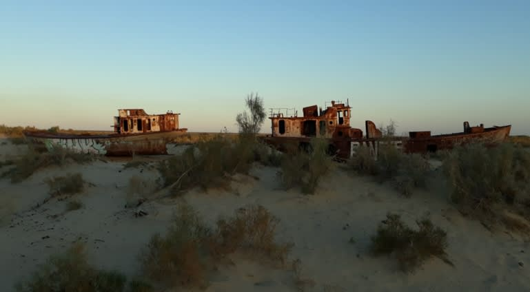 Techno Festival Puts Aral Sea on Music Map
