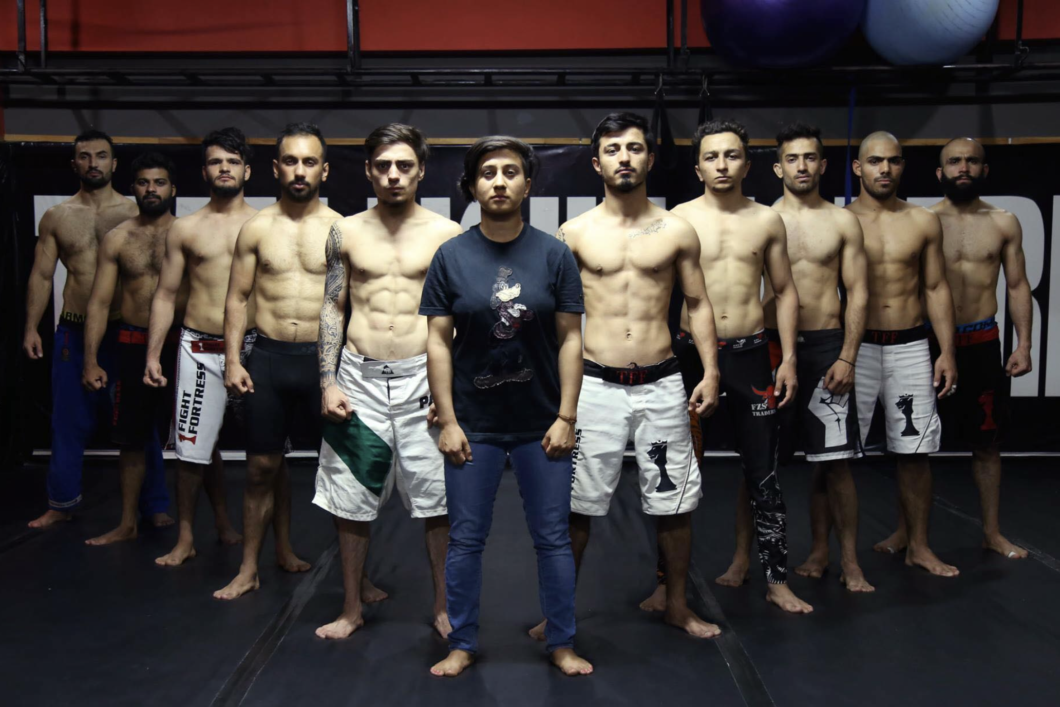 In Pakistan's Emerging MMA Scene, A Woman Among Men Rises