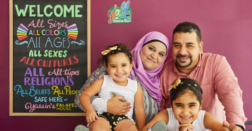 This Syrian Refugee Opened A Small Falafel Shop In Tennessee. It Was Just Named The 'Nicest Place In America.'