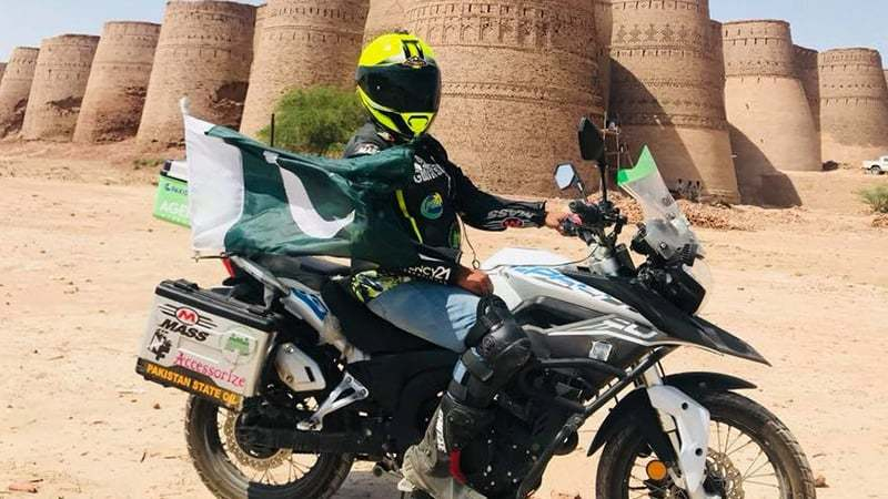 Here's how PSO fueled Guliafshan Tariq's biking journey across Punjab