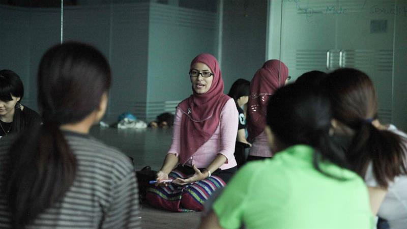 The Muslim woman breaking barriers in sex education in Myanmar