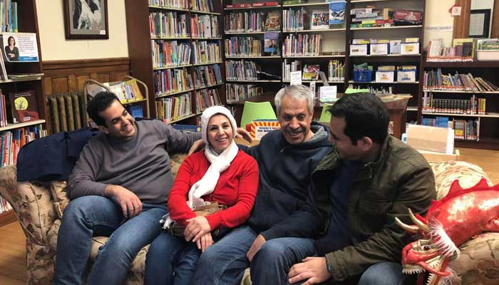 Separated by Trump's Travel Ban, Iranian Families Reunite at Border Library