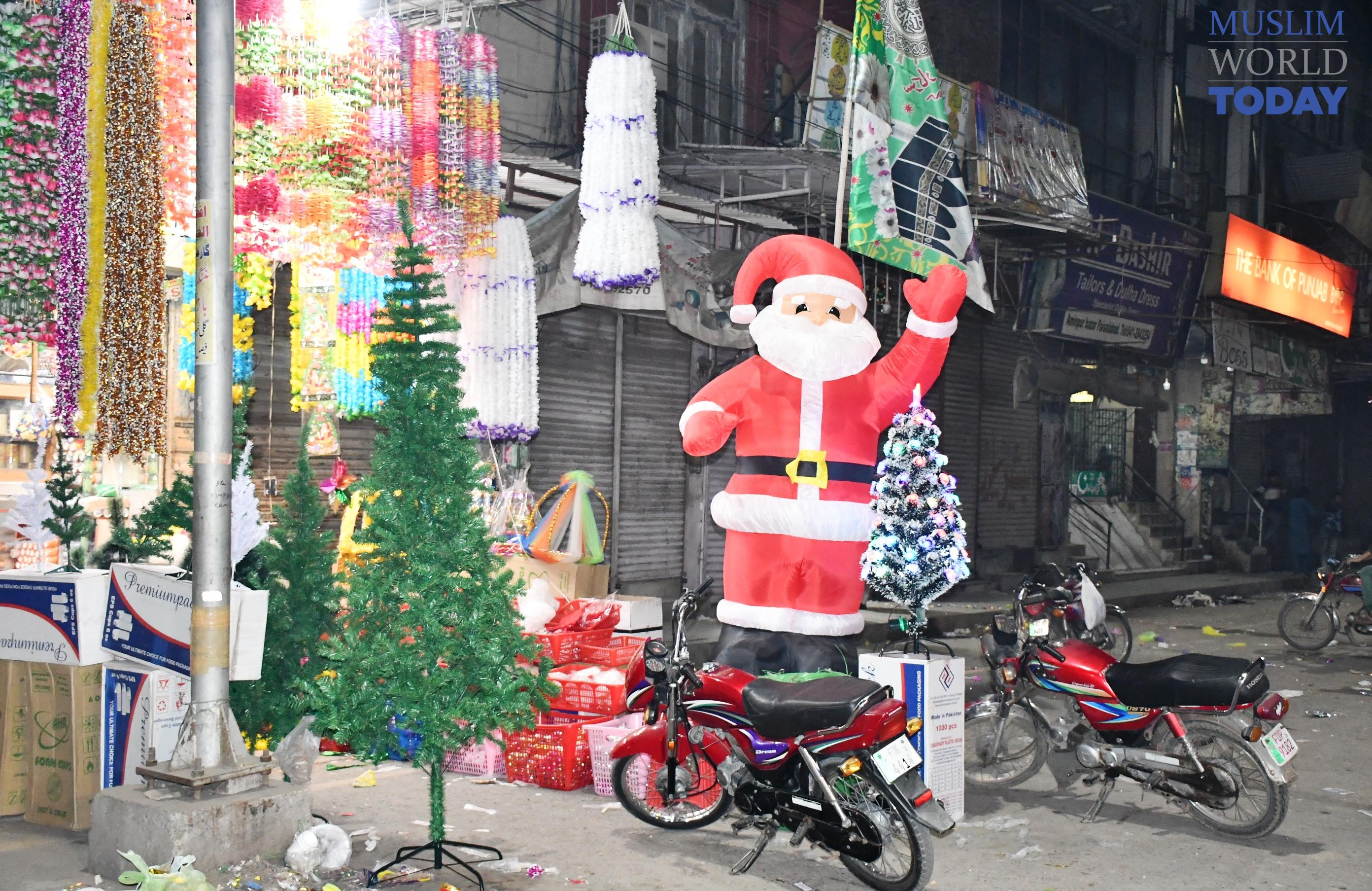 Festivities of Christmas 2018 in Pakistan