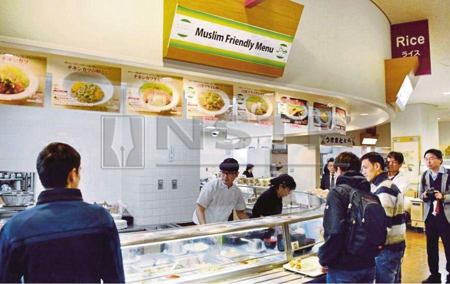 A Muslim-friendly eatery in Japan. Japan's tourist sector is riding on the boom of the global Muslim travel market.