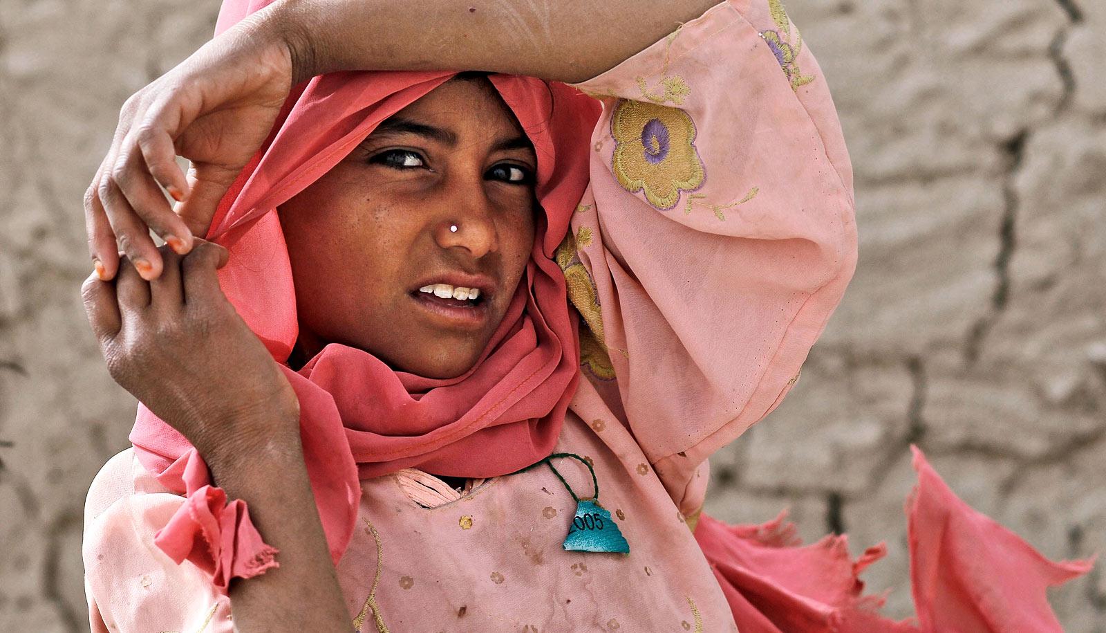 Model Hooker in Kandahar