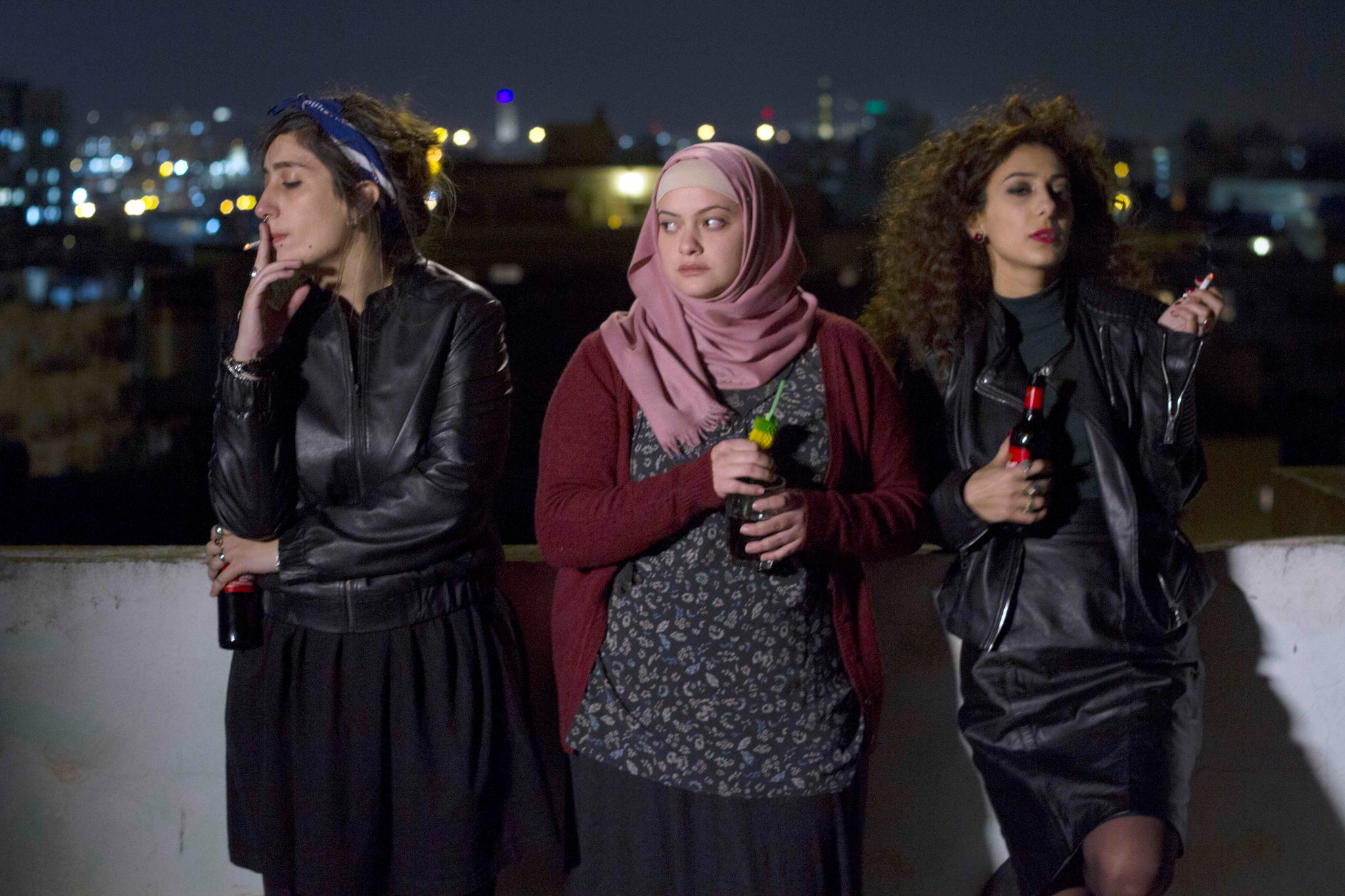 "Palestinian roommates in the film ""In Between.""CreditCreditFilm Movement"