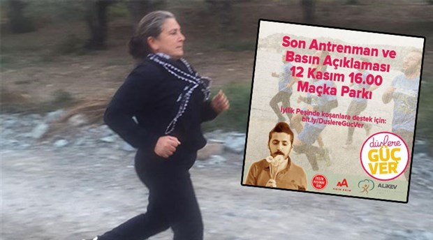 Mother of Ali İsmail Korkmaz 'running after his son's dreams' at İstanbul marathon