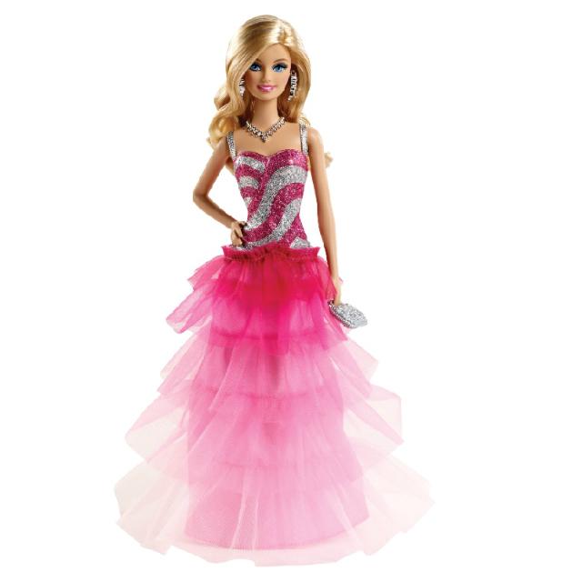 Image result for barbie büyüleyici pembe elbise