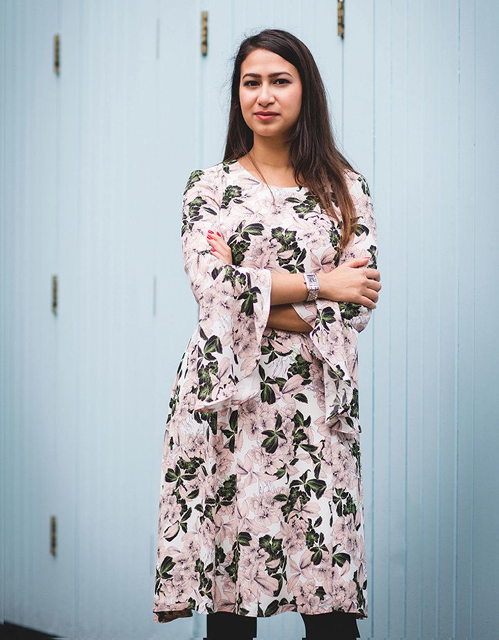 Fatima Zaman photographed by Victoria Adamson