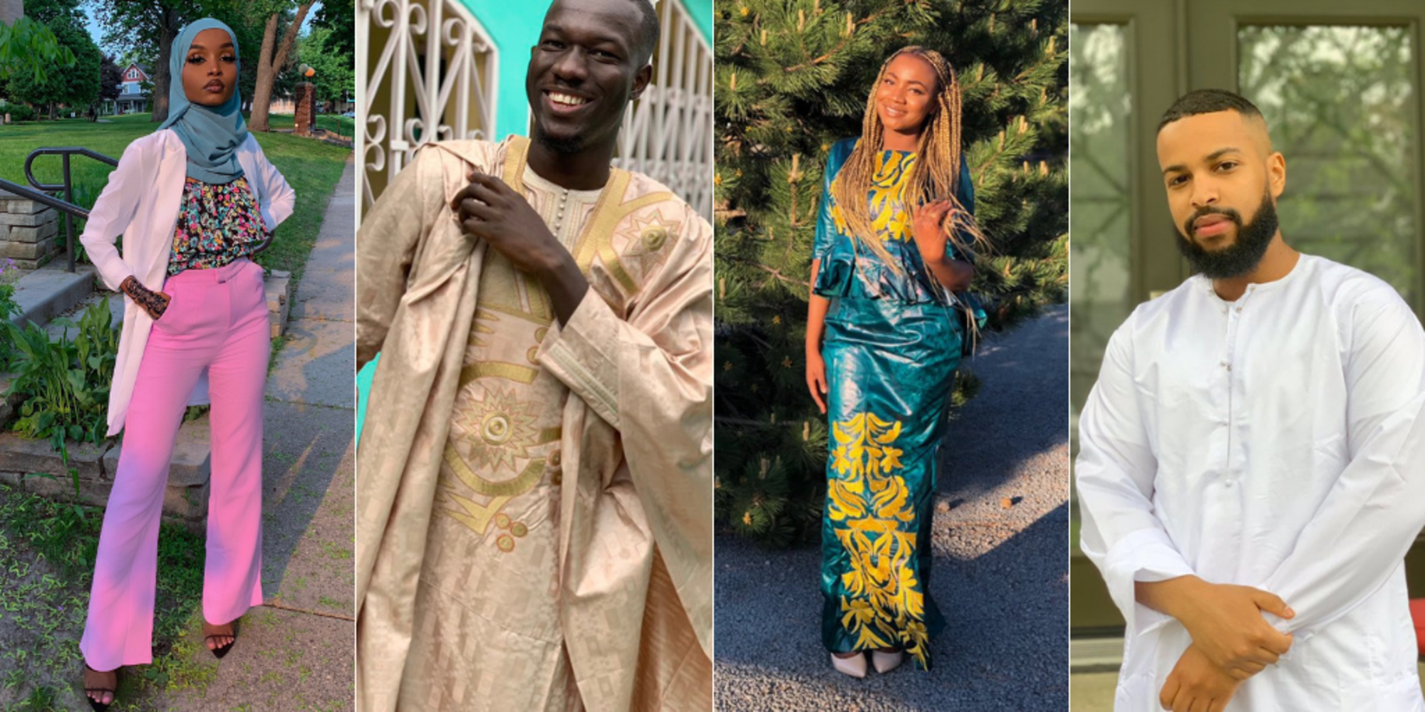 #BlackOutEid: Young Black Muslims Celebrate Eid Al-Fitr In Their Flyest Outfits