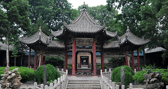 View of the Great Mosque of Xi'an (photo: chensiyuan</p>)<p>