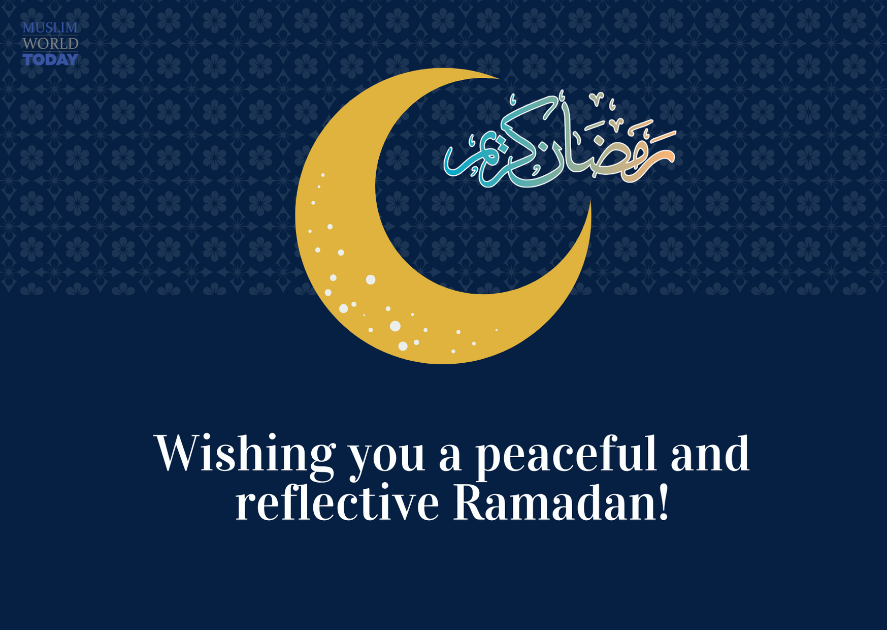 Ramadan - self-reflecting time of the year