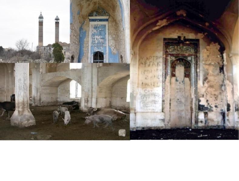 Agdam Juma Mosque After Occupation