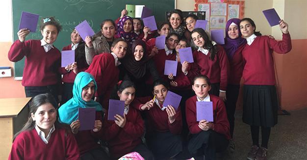 Children unite to rewrite fairy tales in Eastern Turkey