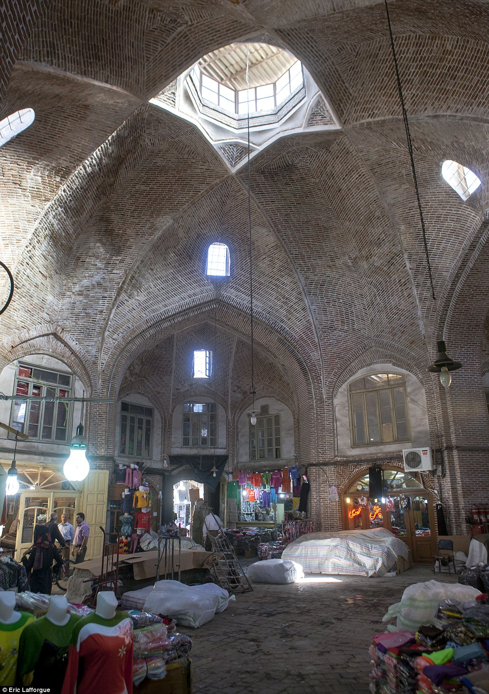 The Old Bazaar in Tabriz was on the Silk Road  and is one of Iran's Unesco World Heritage Sites