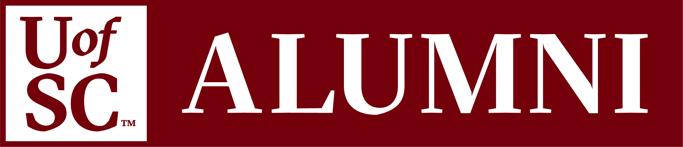 The new UofSC Alumni logo