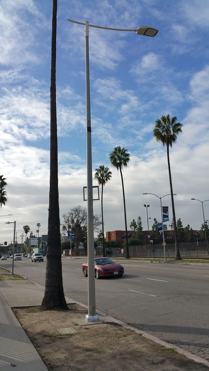 New Street Lighting on Figueroa Street