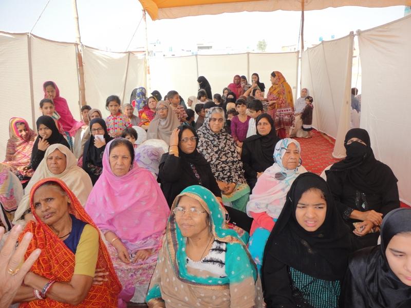 Women at Camp