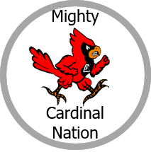 Mighty Cardinals Logo