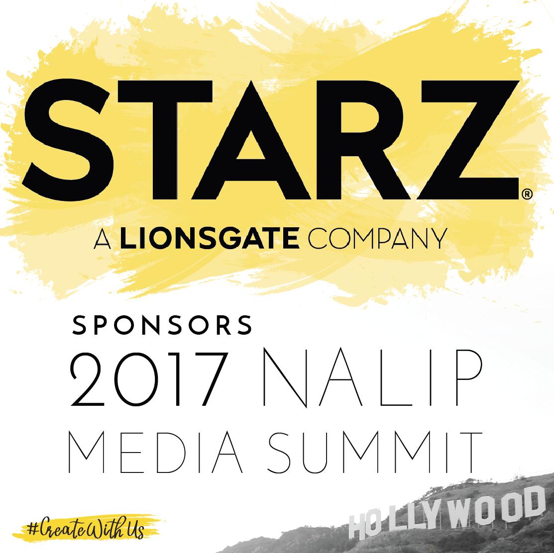 STARZ Sponsors 2017 NALIP Media Summit