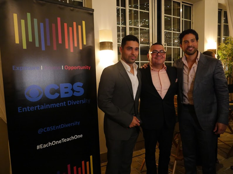 NALIP and CBS Engage in Diversity Dialogue with Adam Rodriguez and Wilmer Valderrama