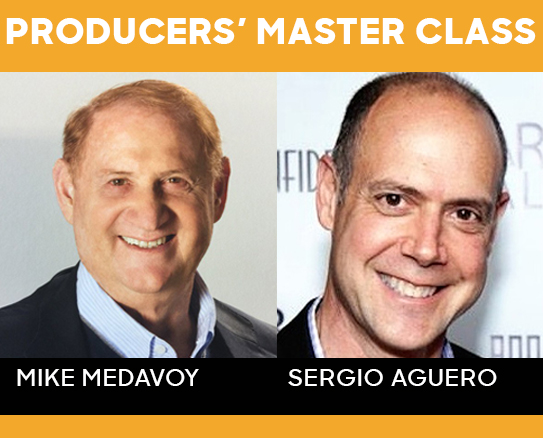 Producer's Master Class with Mike Medavoy and Sergio Aguero
