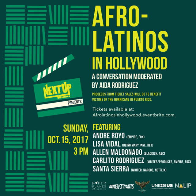 Next Up Series Presents: Afro-Latinos in Hollywood