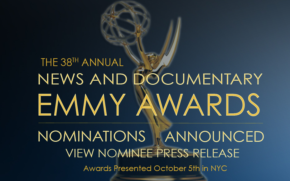 News and Documentary Emmy Nominations Announced