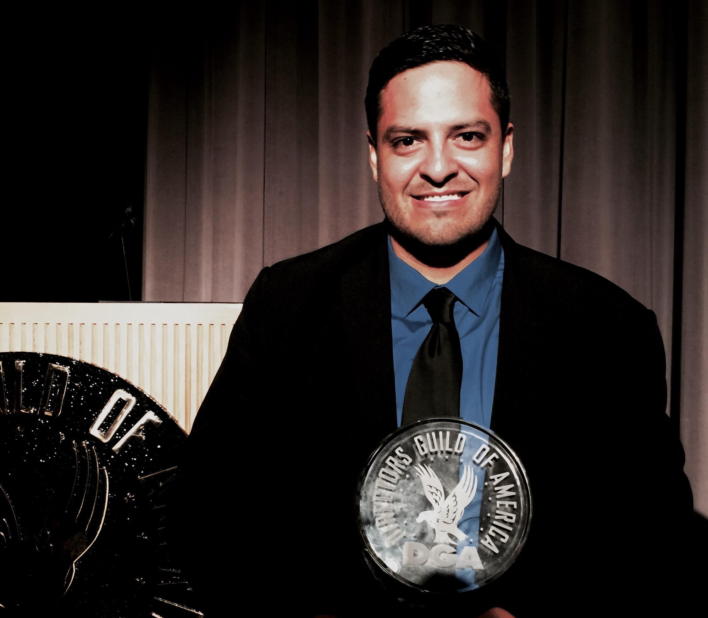 NALIPster Juan L. Martinez Vera honored at DGA Student Film Awards