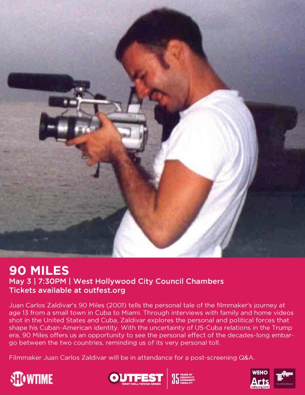 Member News: Watch Juan Carlos Zaldivar's '90 Miles'