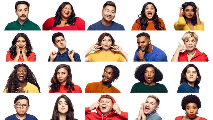 CBS Diversity Comedy Showcase Sets 2020 Cast