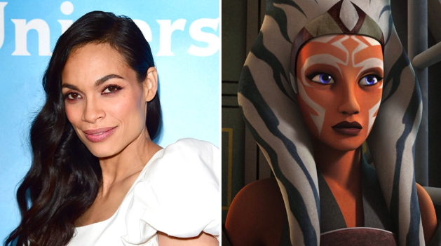 Rosario Dawson to Play Ahsoka Tano in 'The Mandalorian' Season 2
