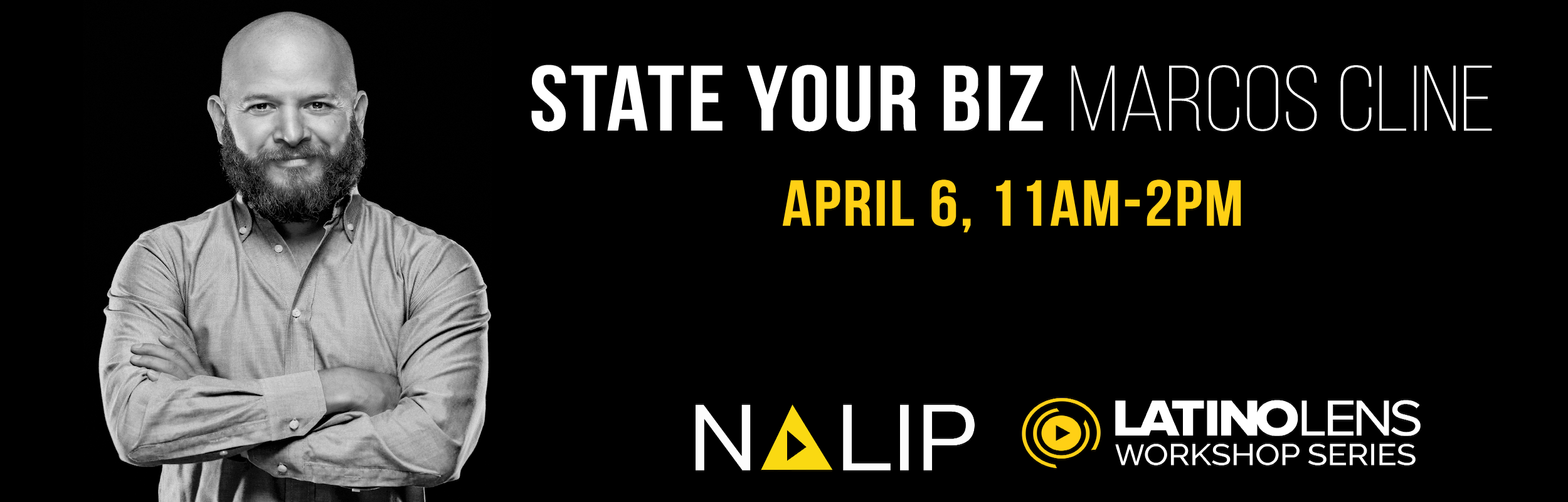 STATE YOUR BIZ WITH MARCOS CLINE