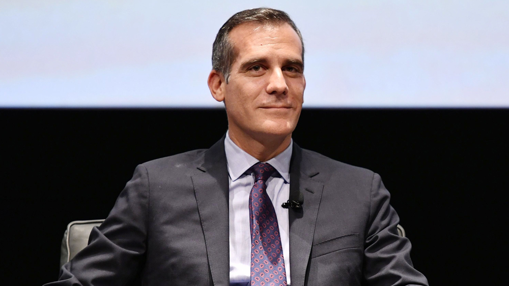 LA Mayor Eric Garcetti Launches Plan to Double Latinx Representation in Hollywood by 2030