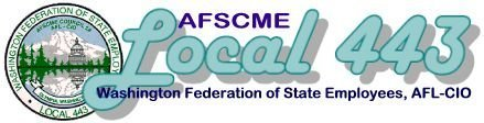 AFSCME WFSE local 443 logo