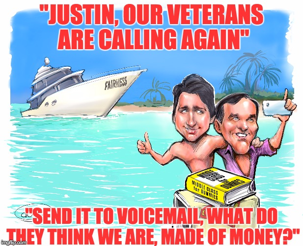 Trudeau's Losing Battle Against Veterans, Decency