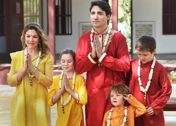Trudeau Family Running Up The Tab In India