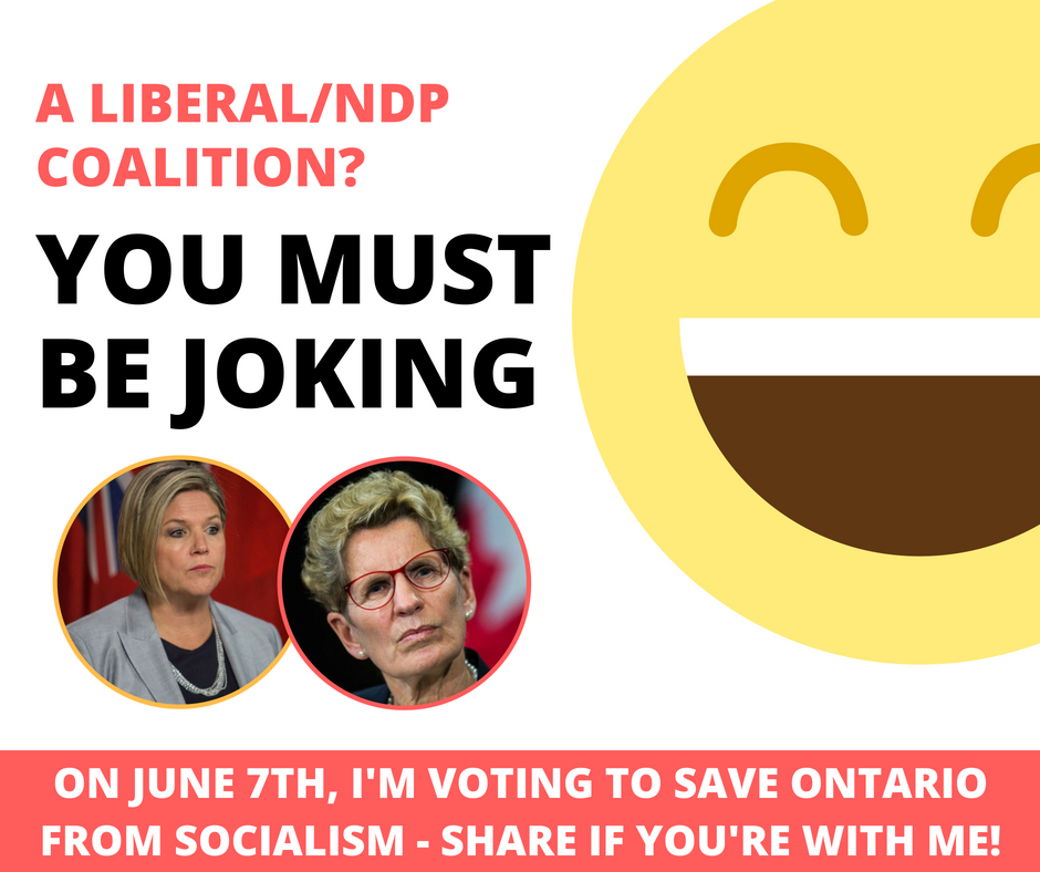 Ontarians Against a Liberal/NDP Coalition