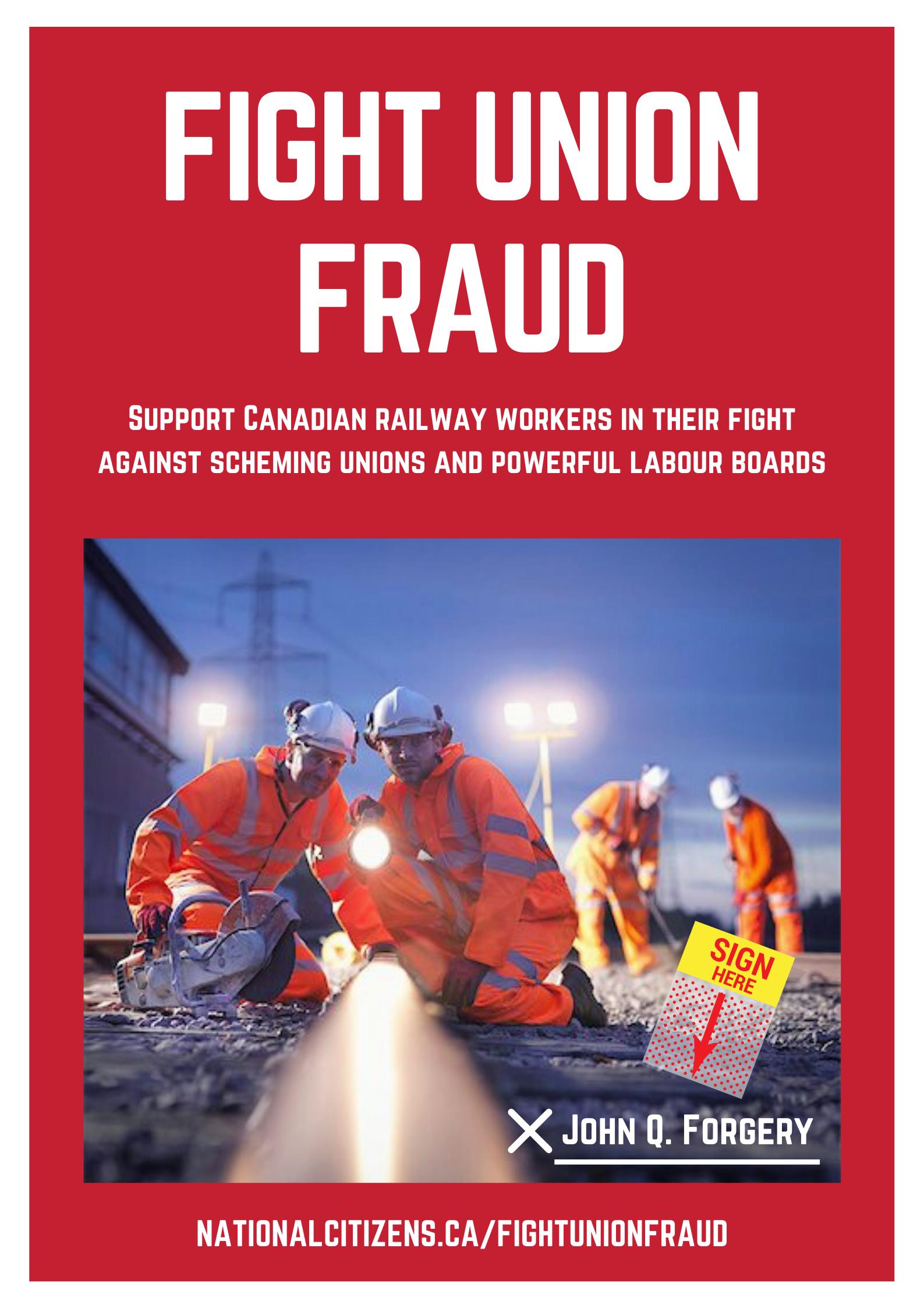 Fight Union Fraud