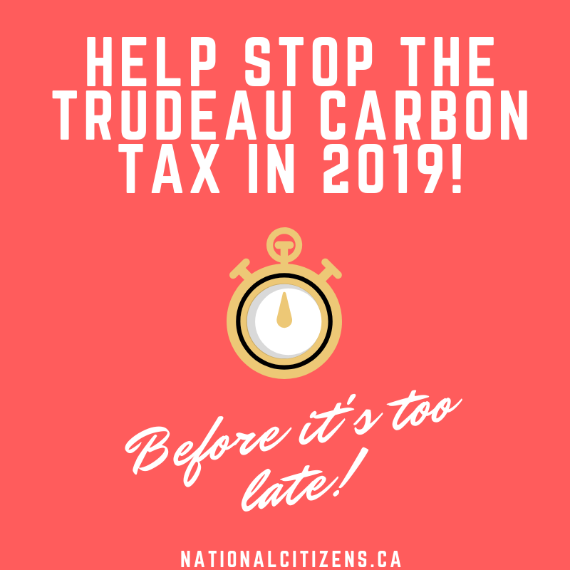 Stop the Carbon Tax!