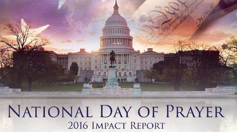 Impacting Our Nation Through Prayer! | Download a Copy of this Years Impact Report Here!