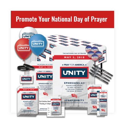 Promote your National Day of Prayer