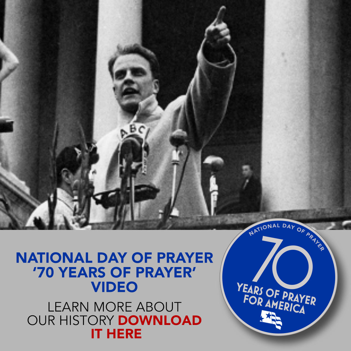 LEARN ABOUT THE HISTORY OF THE NATIONAL DAY OF PRAYER!
