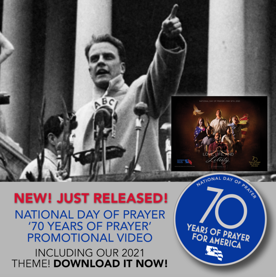 Just Released! Download and Promote the 2021 National Day of Prayer!