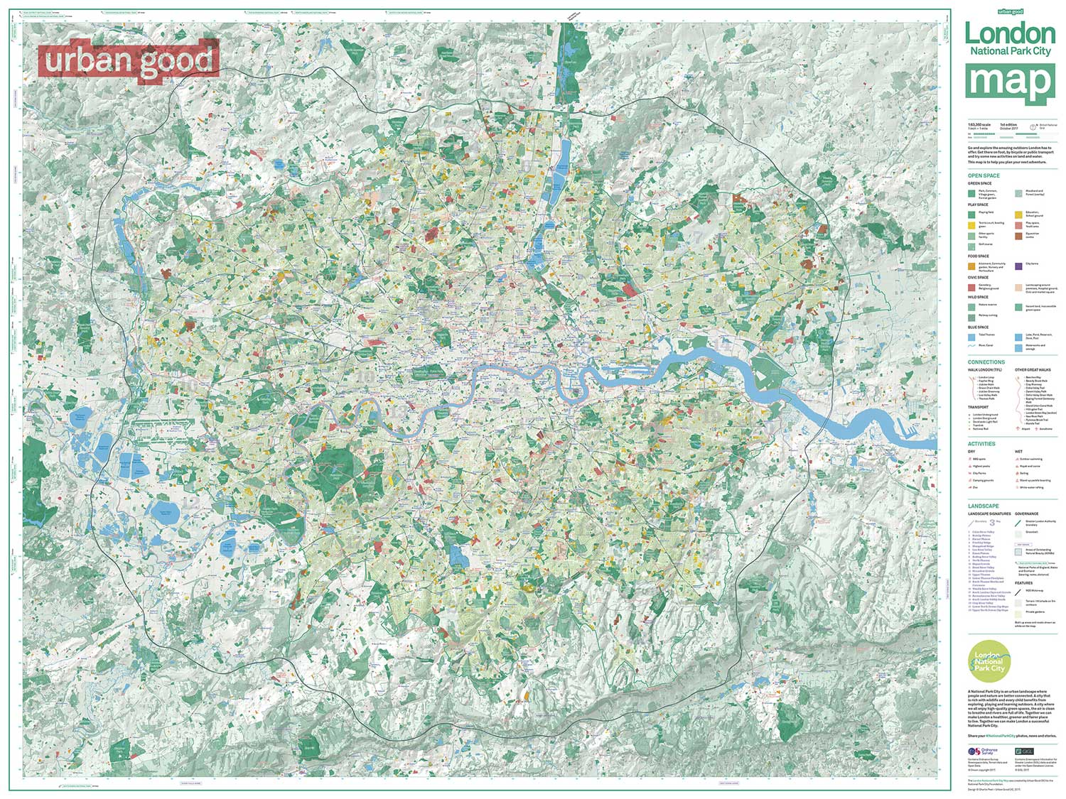 Our map of London